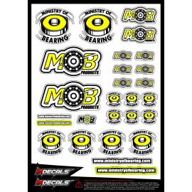 Sticker sheet Ministry of bearing