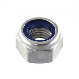 Nylon nut M3 Inox Steel - 1 pc