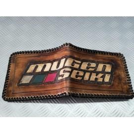 Leather wallet Mugen - Made...