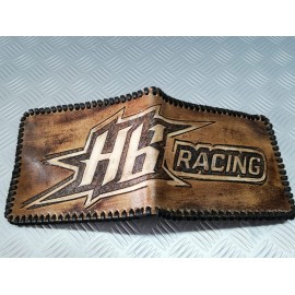 Leather wallet Hot Bodies- Made by hand