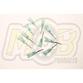 Tires Glue Steel needles Green - 10 pcs