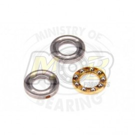 Ball bearing 5x10x4 Axial Acero