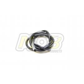 Silicone fuel tube MOB Special no breaks 1M - Black