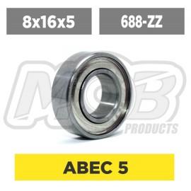 Ball bearing 8x16x5 ZZ
