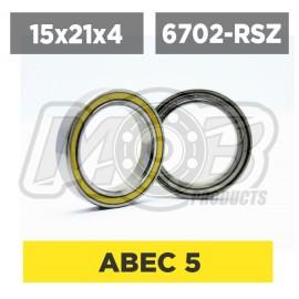 Ball bearing 15x21x4 RSZ