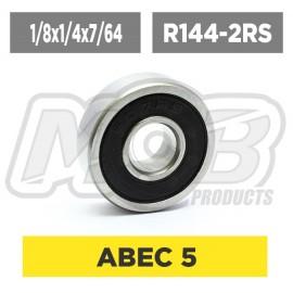 Ball bearing 1/8x1/4x7/64 2RS