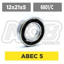 Ball bearing 12x21x5 Rear...