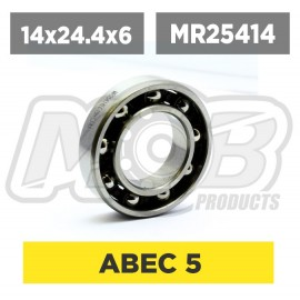 Ball bearing 14x25.4x6 Rear...