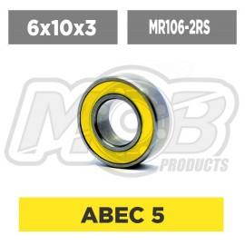 Ball bearing 6x10x3 2RS