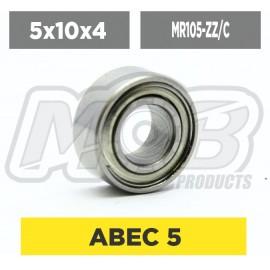 Ball bearings pack 5x10x4 MR105-ZZ/C - 10 pcs