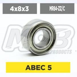 Ball bearings pack 4x8x3 MR84-ZZ/C - 10 pcs