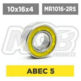 Ball bearing 10x16x4 2RS