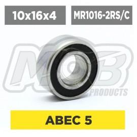 Ball bearings pack 10x16x4 MR1016-2RS/C - 10 pcs
