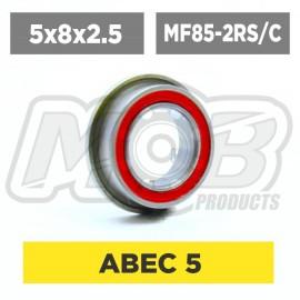 Pack de Rodamientos 5x8x2.5 Flanged MF85-RSZ-C - 10 uds.