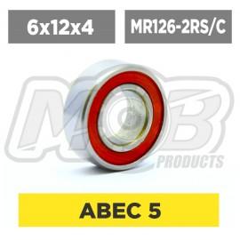 Pack de Rodamientos 6x12x4 MR126-2RS/C - 10 uds.