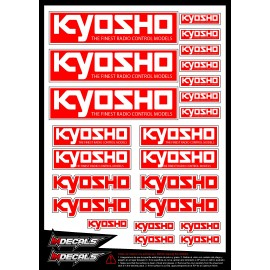 sticker KYOSHO para coches RC