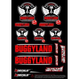 Sticker sheet Buggyland 5.0
