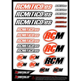 Sticker sheet RCM
