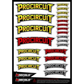 Sticker sheet Procircuit