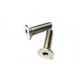 Screw 4-40x3/8 Flat Head Titanium - 1 pc