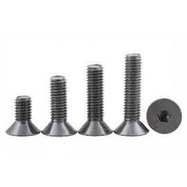 Screw M4x10mm Flat Head - 10 pcs