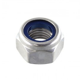 Nylon nut M4 Inox Steel - 10 pcs