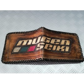 Leather wallet Mugen - Made by hand