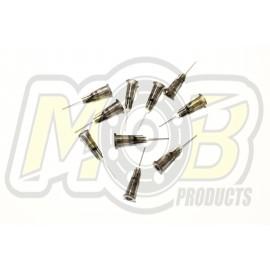 Tires Glue Steel needles Black - 10 pcs