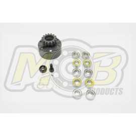 Vented Clutch bell 14T MOB