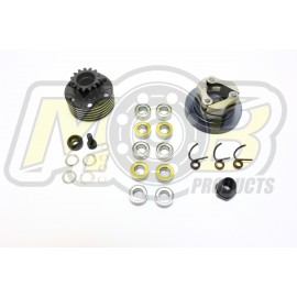 Vented Clutch bell 15T set + Clutch MOB