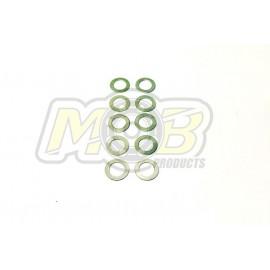Clutch bell washers 5x0.1-5x0.2-5x0.3 30 pcs