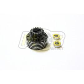 Campana Embrague Ventilada 14T + Rodamientos Premium
