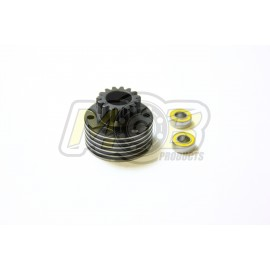 Vented Clutch bell 15T + Premium Ball bearings