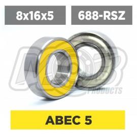 Ball bearings pack 8x16x5 688-RSZ - 10 pcs