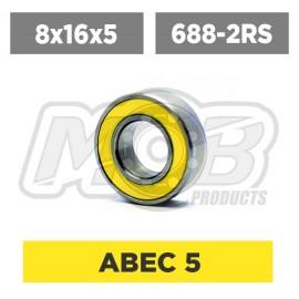 Ball bearings pack 8x16x5 688-2RS - 10 pcs