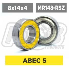 Ball bearings pack 8x14x4 MR148-RSZ - 10 pcs