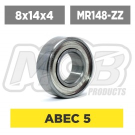 Ball bearings pack 8x14x4 MR148-ZZ - 10 pcs