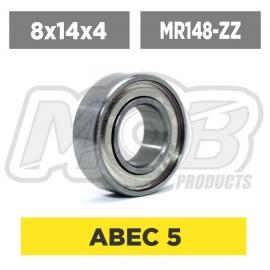 Ball bearing 8x14x4 ZZ