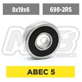 Ball bearings pack 8x19x6 698-2RS - 10 pcs