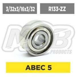Ball bearing 3/32x3/16x3/32 ZZ - Ministry of Bearing