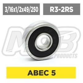 Ball bearing 3/16x1/2x49/250 2RS