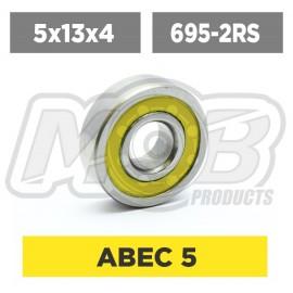 Ball bearings pack 5x13x4 695-2RS - 10 pcs