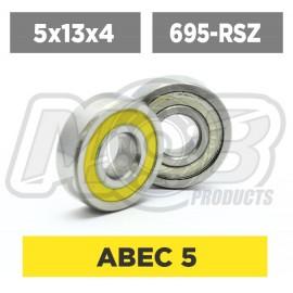 Ball bearings pack 5x13x4 695-RSZ - 10 pcs