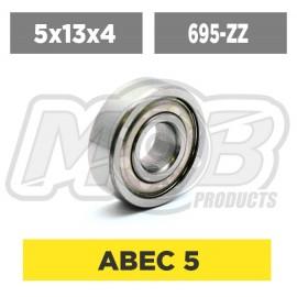 Ball bearings pack 5x13x4 695-ZZ - 10 pcs