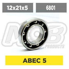 Ball bearing 12x21x5 Rear (steel) Engine