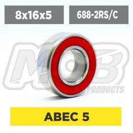 Ball bearing 8x16x5 2RS Ceramic