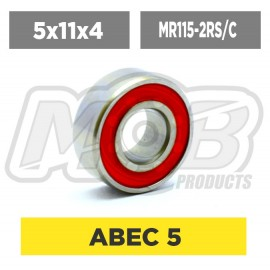 Pack de Rodamientos 5x11x4 MR115-2RS Ceramico - 10 uds.