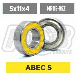 Ball bearings pack 5x11x4 MR115-RSZ - 10 pcs