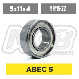 Ball bearings pack 5x11x4 MR115-ZZ - 10 pcs