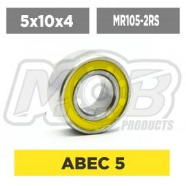 Clutch Ball bearing 5x10x4 2RS Premium
